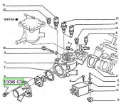Termostat Kapağı 405 Partner Berlıngo Dw8
