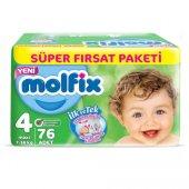 Molfix Süper Fırsat 4numara 76lı