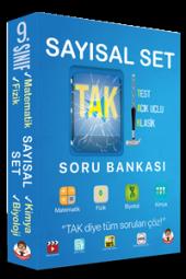 Tonguç Yayınları 9. Sınıf Tak Soru Bankası Sayısal Set
