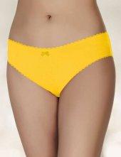 şahinler Kadın Külot Sarı D 3071