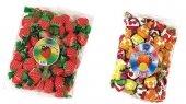 Elit Çilek Torbacık +meyve Dolgulu Mixtorbacık Şeker 1+1 Kg.