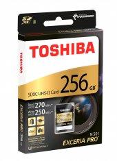 Toshıba 256gb Extreme Pro Sdxc 270mb Class 10 Uhs Iı Sd Mmc Kart Thn N501g2560e6