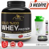 Torq Nutrition Gold %100 Whey Protein Tozu 2300 Gr Çilek Aromalı