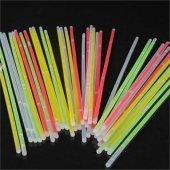 Neonlu Glow Stick Çubuk 100 Adet Karışık Renkli