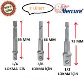 Mercure Bits Lokma Adaptörü 3 Parça Set