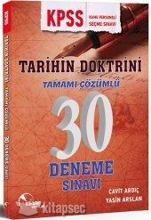 Kpss Tarihin Doktrini Çözümlü 30 Deneme Sınavı Doktrin