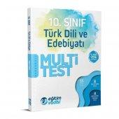 10. Sınıf Türk Dili Ve Edebiyatı Multi Test Eğitim Vadisi Yayınları