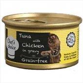Chefs Choice Gravy Soslu Balıklı Tavuklu Kedi Yaş ...