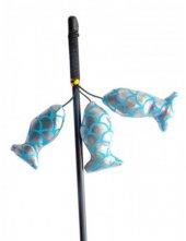 Eastland 3 Balıklı Kedi Oltası 50 Cm Metalik