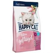 Happy Cat Kitten Kümes Hayvanı Ve Somonlu Yavru Kedi Maması 4 Kg