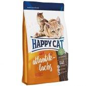 Happy Cat Atlantic Lachs Somonlu Kedi Maması 1,4 Kg