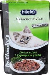 Dr. Clauders Pouch Tavuk&ördek Kedi Yaş Maması 100 Gr