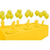 25 Kişilik Sarı Parti Set Sarı Doğum Günü Seti