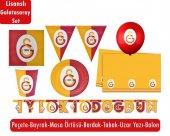 16 Kişilik Galatasaray Parti Seti Galatasaray Doğum Günü Paketi