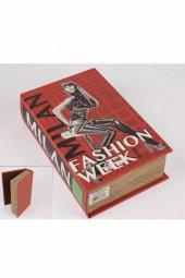 Milan Kitap Şek Deri Kutu 27x18cm