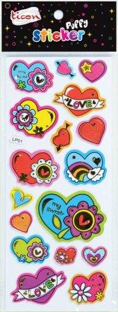 Ticon 138051 Sticker Puffy Tps 15