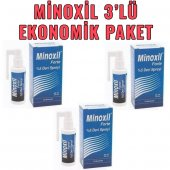Minoxil Forte 5 Deri Spreyi 3'lü Ekonomik Paket...