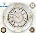 Duvar Saati Galaxy Büyük Boy Eskitme Salon Tipi (Pil Hediyeli)