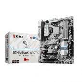 Msı Intel Z270 Tomahawk Arctıc Z270 Ddr4 2400 Vga Glan 1151p 7 M.2 Sata Usb3.1