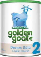 Golden Goat 2 Keçi Sütü Bazlı Bebek Sütü 400 Gr. Skt 16.11.202