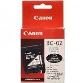 Canon Bc 02 Siyah Orjinal Kartuş
