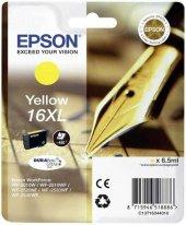 Epson 16xl T1634 C13t16344020 Sarı Orjinal Kartuş
