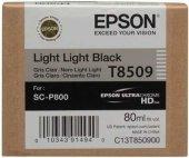 Epson T8509 C13t850900 Açık Açık Siyah Orjinal Kartuş