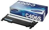 Samsung Clp 365 Clt C406s St988a Mavi Orjinal Toner
