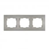 Mutlusan Üçlü Çerçeve Rita Metalik Titanyum 2220 8...