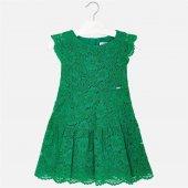 Mayoral Kız Çocuk Dantel Elbise 3934