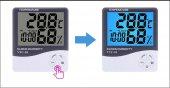 Newnet Vtc 18 Oda İçi Isı Ve Nem Ölçer Dijital Saat & Termometre