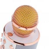 Wster Ws 858 Karaoke Mikrofon +micro Sd+ Radyolu