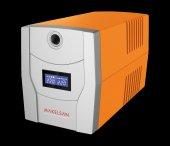 Makelsan Line Intractive Lion X 1200va 5 10 Dk 2x7ah Akülü Ups Mu01200l11lx005