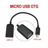 Micro Usb Tablet Ve Akıllı Telefon İçin Usb Giriş Dönüştürücü Otg