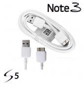 Samsung Galaxy S5 Note 3 Usb Şarj Data Kablosu