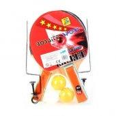 Masa Tenisi Raket Seti Raket File 3 Pin Pon Topu Tam Set