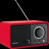 Grundig Tr 1200 Kırmızı Taşınabilir Retro Radyo