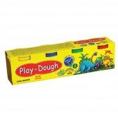 4 Renk Oyun Hamuru Play Dough Yerli Üretim