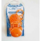 Baby Time Silikon Emzik Saklama Kabı Ve Emzik Askı...