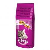 Whiskas Tavuklu Ve Sebzeli Yetişkin Kuru Kedi Maması 14 Kg