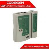 Codegen Cod012 Rj12,rj45 Kablo Test Aleti