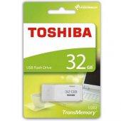 32gb Toshıba Usb 2.0 Hayabusa Thn U202w0320e4 Beyaz Taşınabilir B