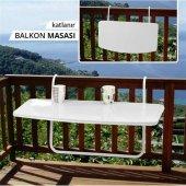 Yayla Askılı Balkon Masası Katlanabilir Masa