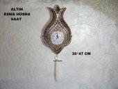Esma Hüsna İşlemeli Dekoratif Saat