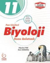 11. Sınıf Fen Liseleri Biyoloji Konu Anlatımlı Palme Yayınları