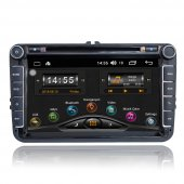 Volkswagen Eos Android 8.0 Multimedya Oem Double Teyp Carvocal Cr