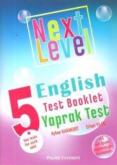 5.sınıf Next Level English Test Booklet Yaprak Test Palme Yayın