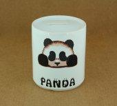 Seramik Panda Baskılı Kumbara