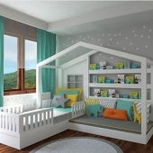 Montessori Yatak Sitil Genc Odası En Uygun Fiyata