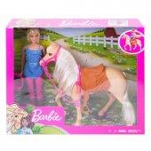 Fxh13 Barbie Ve Güzel Atı Oyun Seti Barbienin Hayvanları